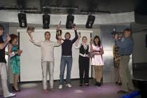 Награждение финалистов сезона автоквестов 2010. Саяногорск