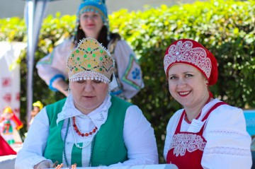 Праздник Троицы в Шушенском