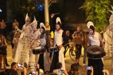 """""""Белые крылья"""" в ночи на Первомайской площади"""