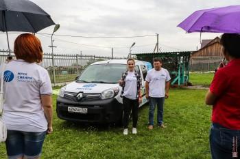 МРСК Сибири представили в Хакасии экологичный энергопробег